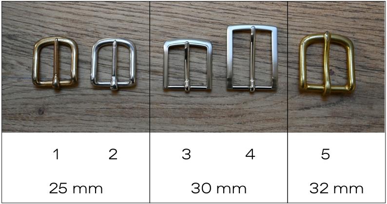 Boucles de ceintures Sellerie Dollé